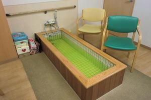 こちらは足浴専用となっております♪